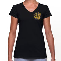 MacLeod of Lewis Tartan Flower Badge Tee Thumbnail