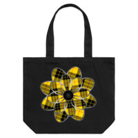 MacLeod of Lewis Tartan Flower Shoulder Tote Thumbnail